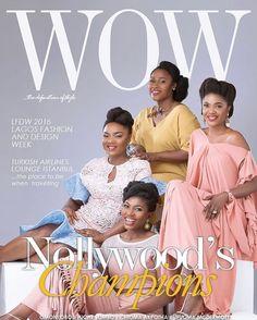 Chioma Akpotha, Omonigho Omole, Uche Jombo Rodriguez & Ufuoma McDermott Cover WOW Magazine's New Edition