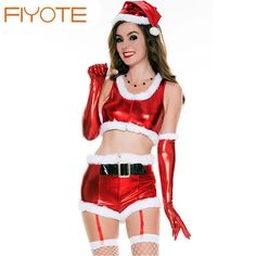 af6d0d3ceca7b FIYOTE Stylish White Fur Trim Mesh Splice Hooded Santa Babydoll Set LC7264  sexy christmas costumes santa claus for adults FIYOTE Stylish White Fur  Trim Mesh ...