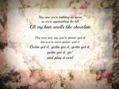 The 1975 Chocolate lyrics