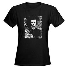 Poe on Raven T-shirt from Cafe press