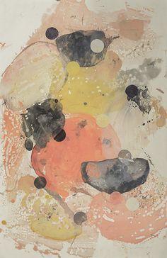 Benthic Revolution 1 | Tracey Adams Art Encaustic on Mitsumata 40x26 2014 #ICAartists #painting #art #oilpainting #encuasticpainting #contemporaryart #BayAreaArtists