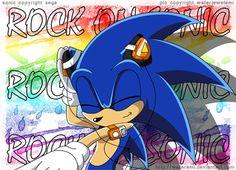 Rock on, Sonic!