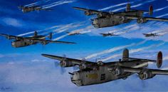 Minnesota Mauler and the 461st BG over Italy by dlm8hn.deviantart.com on @DeviantArt