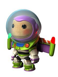 Buzz Lightyear gear for Sackboy in LittleBigPlanet 2