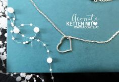 www.aconite.at Pearl Necklace, Necklaces, Pearls, Silver, Jewelry, String Of Pearls, Jewlery, Jewerly, Beads