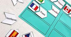 Ne zamandır aklımda oğluşlarıma böyle ülkeleri , bayrakları başkentleri öğretebileceğim bir oyun tasarlamak ...
