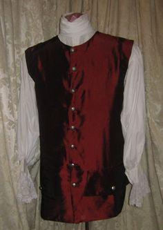 18th Century - Mens Vest