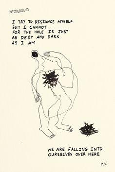 Putdownness 8 May Deep Dark Self Poetry, Self, Dark, Poetry Books, Poem, Poems, Darkness