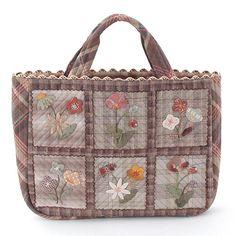 Hand made bag by Reiko Kato