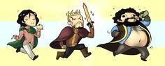 Oh, you wacky Baratheons!
