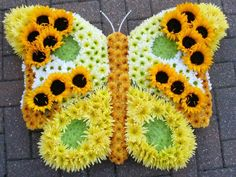 A Summer Butterfly - Val Spicer Foam Frame