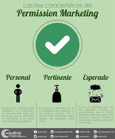 ¿Y tú, aún no conoces las características del #permission marketing?
