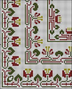 Antique Cross Stitch - rose - Λευκώματα Iστού Picasa Cross Stitch Borders, Cross Stitch Rose, Cross Stitch Embroidery, Cross Stitch Patterns, Arts And Crafts Movement, Easy Drawings, Needlepoint, Needlework, Sewing