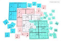 Nuottisudoku 6 x 6 FREE Printable Bingo, Free Printable, Printables, Free Printables, Print Templates