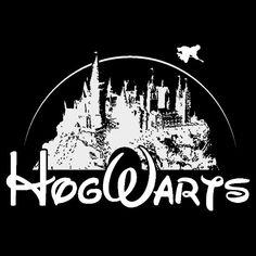 Harry Potter Hogwarts castle tee by sTINKBADGUYs on Etsy, $14.00