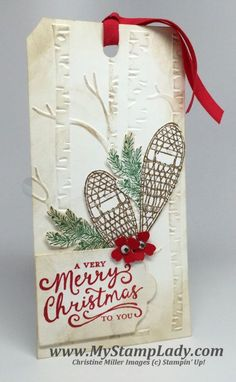Winter Wishes Christmas Gift Tags