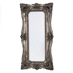 ACHICA | Tall Classic Mirror, Silver