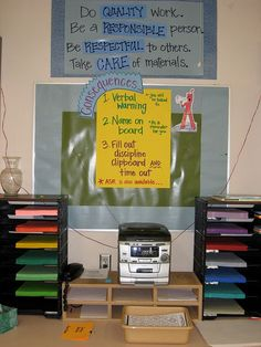 Lincoln Elementary & Parker Elementary by teachingpalette, via Flickr Expectation board