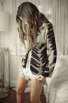 I don't do shorts, but I love the jacket!