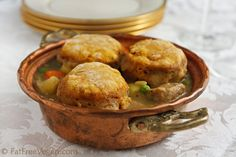 #Vegan Celebration Pot Pie with Pumpkin Biscuit Crust