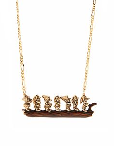 =D seven dwarfs necklace