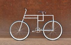 deconstructed bicycle