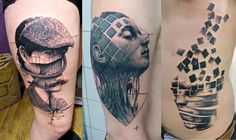 30 Of The Best Graphic Tattoo Artists