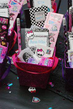 Monster High Party – lembrança para convidados @ decorating-by-day