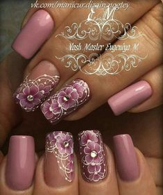 Amazing Tips For The Best Summer Nails – NaiLovely Best Nail Art Designs, Beautiful Nail Designs, Beautiful Nail Art, Gorgeous Nails, Classy Nails, Cute Nails, Pretty Nails, Gel Nagel Design, Bride Nails