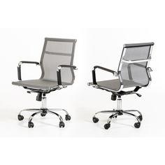 Modrest Julia Modern Grey Office Chair