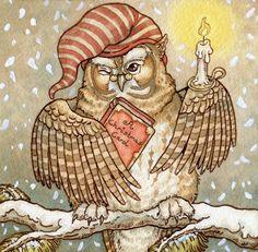 A Christmas Carol Owl