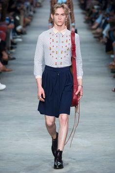 Gucci Primavera 2016 – Mr. & Mrs. Gucci Mens Skirt