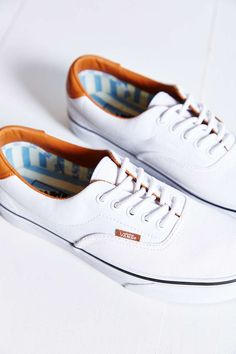 Vans Era 59 Washed Canvas + Leather Sneaker - Urban Outfitters