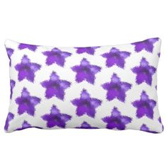 #lumbarpillow #pillows #starflower #ultraviolet #purple #homedecor