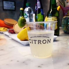 """Feeling hot and thirsty? Try our homemade """"Citronnade"""" (Lemonade) ^^ #lemonade #hot #fresh #CITRON #citron_aoyama"""