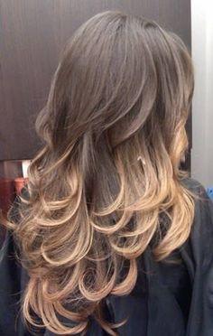 Subtle curls