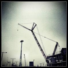 Nice picture of a Liebherr LR 11350 crawler crane