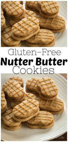 A nutter butter cookie or two was a favorite from my childhood so I am thrilled to share this nutter butter cookie recipe with you! | homemade nutter butter cookies | how to make nutter butter cookies | easy cookie recipes | homemade cookie recipes | gluten free cookie recipes | gluten free nutter butter recipe | gluten free dessert recipes | homemade gluten free cookies || This Vivacious Life