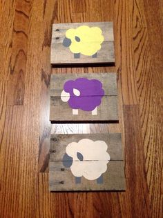 Lamb Nursery Art  by CraftyScienceTeacher on Etsy https://www.etsy.com/listing/215129380/lamb-nursery-art
