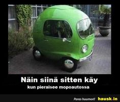 """Silly quote about cars with funny photo. """"This is what happens when you fart in a Smart car."""" This is guaranteed to make you giggle at least a little bit. Funny Car Memes, Funny Shit, The Funny, Hilarious, Funny Stuff, Funny Cars, Funny Things, Silly Memes, Crazy Funny"""