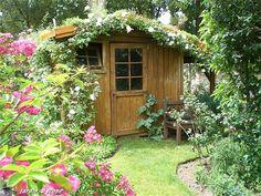 cabane au toit vgtalis du jardin duandr eve