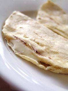 quesadillas (tortillas de blé ou de maïs)