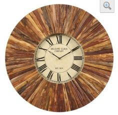 I'm sure with a cheap big box store wall clock and creative cuts of pallet wood, this can be achieved!