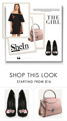 """""""Shein 34"""" by zerina913 ❤ liked on Polyvore featuring Whiteley, Kershaw and shein"""