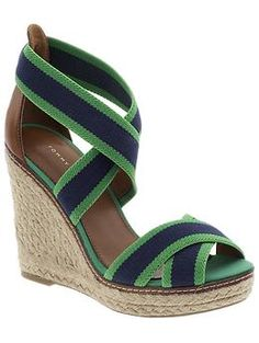 Kelly Green wedges