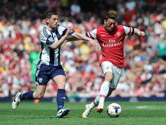 Arsenal 1 West Bromwich Albion 0 - Mesut.
