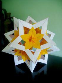 """INTERFERENTE...artistice si diverse. : Cadou simbolic ce-l poti si tu confectiona pentru cei dragi, cu ocazia Sarbatorilor de iarna! Origami """"Brad de Craciun"""","""