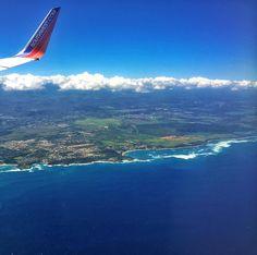 #fll #sju #travel #flight #relax #happy #family #pr #goinghome #welcomehome #southwest #ocean #clouds #sky #blue #white #plane #airplane #arrive #dorado #beach #coast