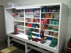 Good storage for reloading area