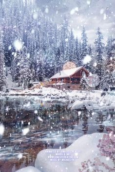 Lovely Good Morning Images, Good Morning Gif, Merry Christmas Gif, Christmas Scenes, Winter Wallpaper, Christmas Wallpaper, Nature Gif, Science And Nature, Winter Night